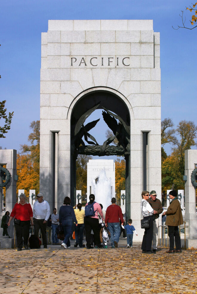 World War II Memorial - Image by Richard Latoff